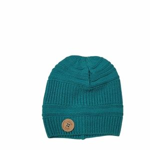 Charlie Paige Green Knit Beanie
